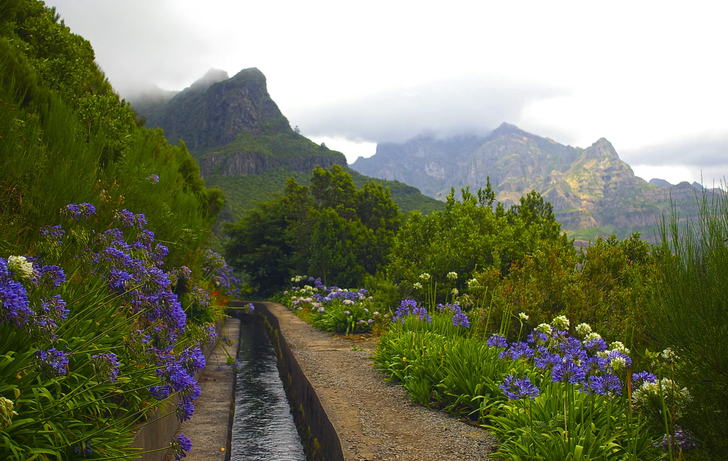 Date un paseo con unas vistas únicas por las levadas - Portugal Circuito Madeira a fondo