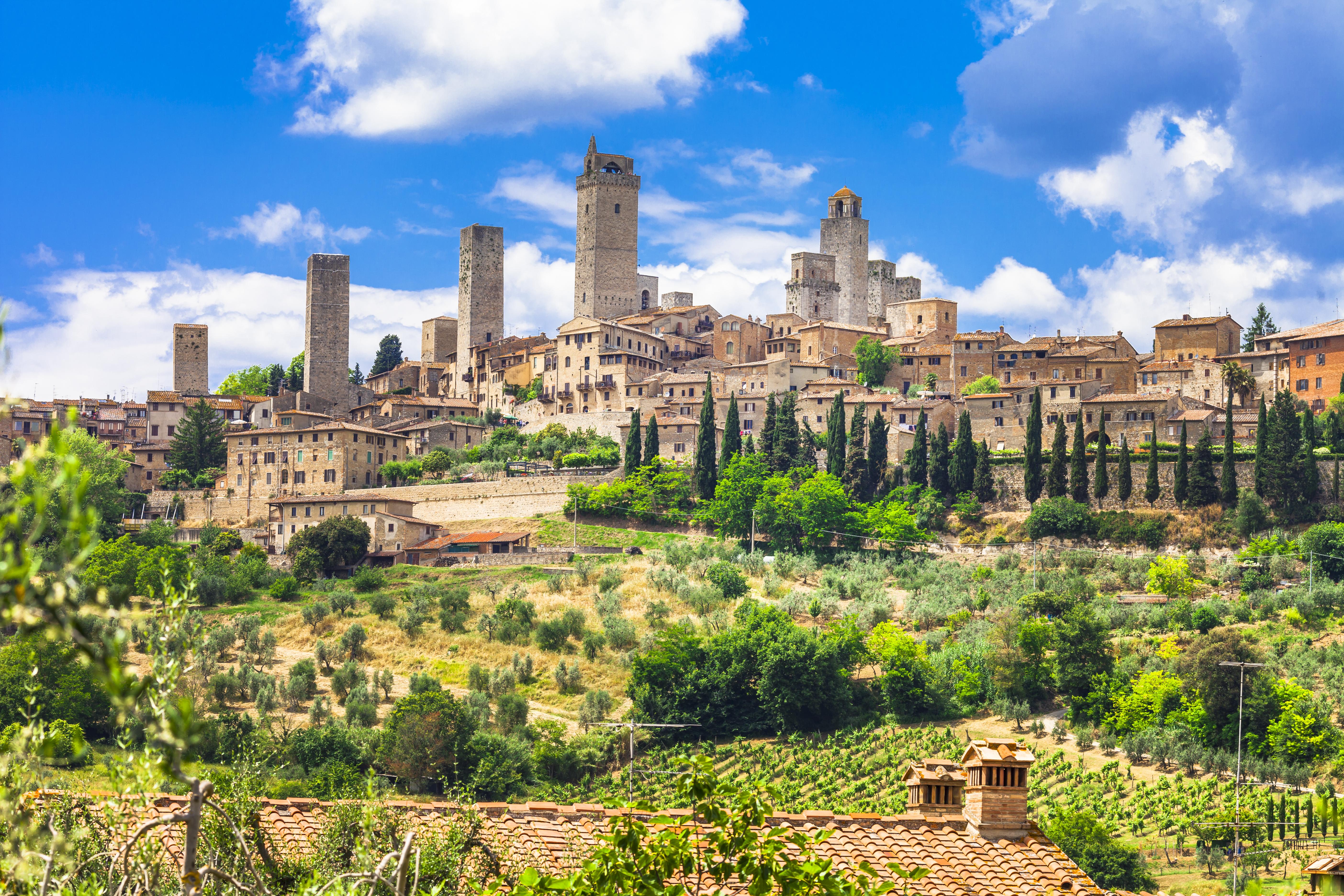 San Gimignano, joya medieval de la Toscana - Italia Circuito Lo mejor de la Toscana