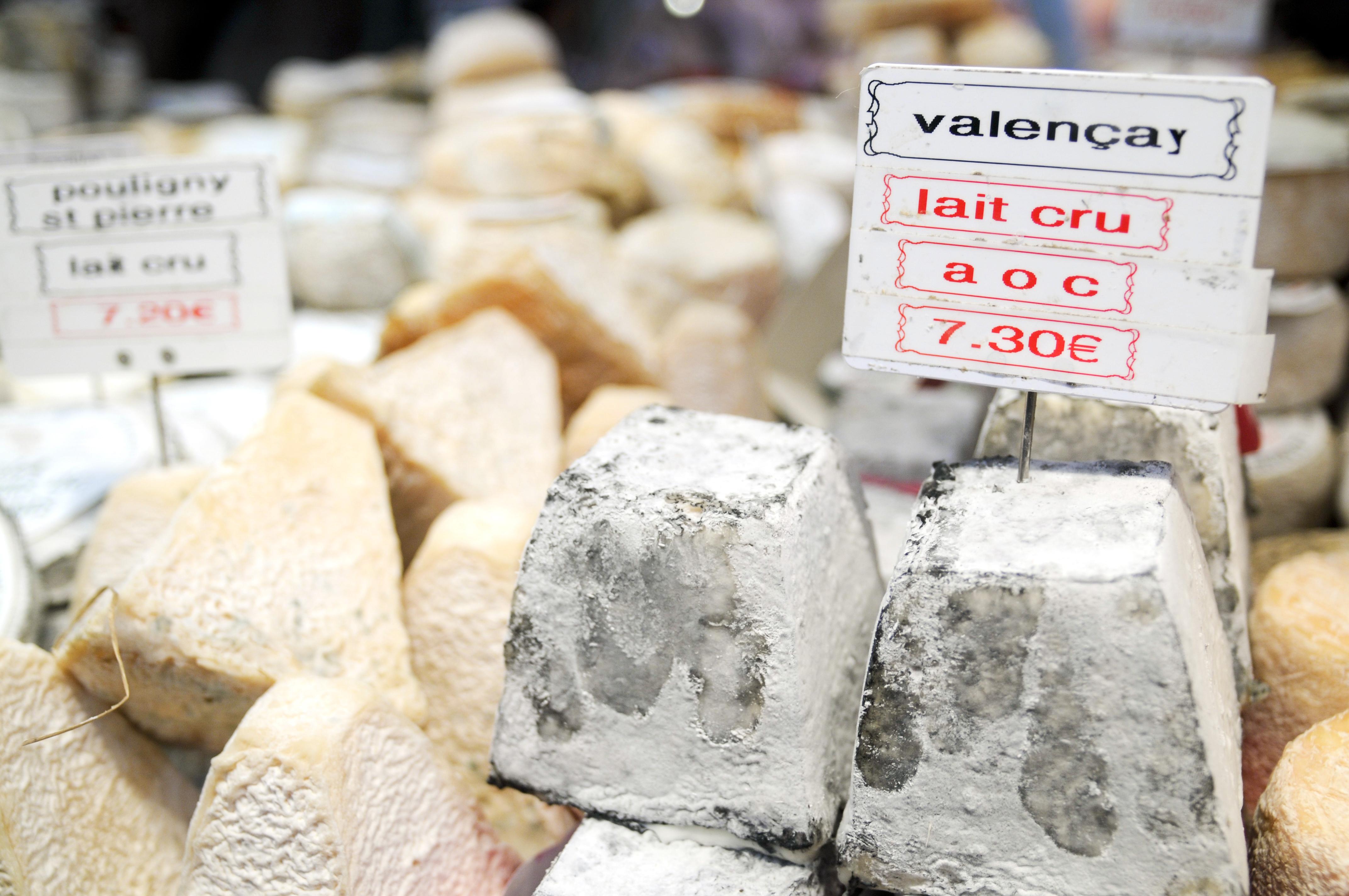 Los quesos del Valle del Loira - Francia Circuito Castillos de Loira, Normandía y París